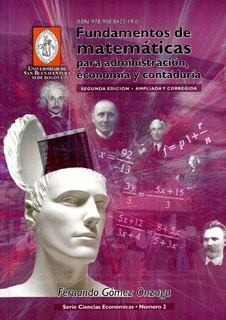 fundamentos de matemáticas para administración, economía y c
