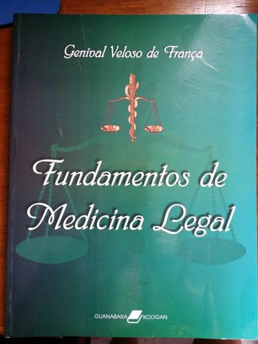 fundamentos de medicina legal genival v. frança frete grátis