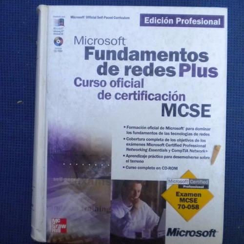 fundamentos de redes plus, curso oficial de certificacion mc