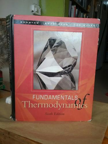 fundamentos de termodinamica ed ingles 6 ec van wylen