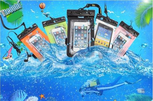 fundas acuáticas para celular al por mayor a 3 soles