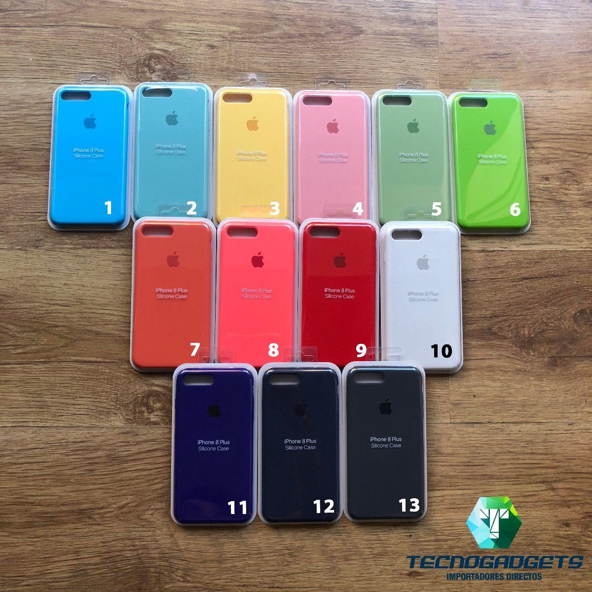 mejor venta detallado precio bajo Fundas Apple Silicona Case Rosa iPhone 7 8 Plus