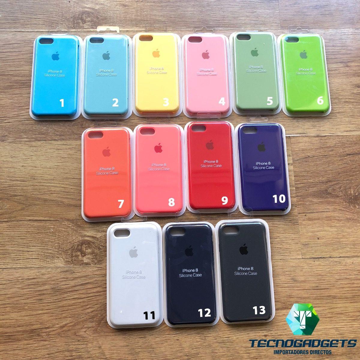 baratas para descuento mas fiable elige auténtico Fundas Apple Silicona Case Rosa iPhone 7 8 Plus Cañitas