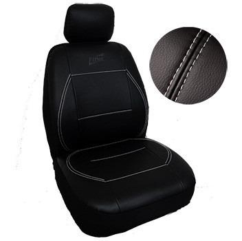 fundas asientos autos  acolchada cuero  especial bordada