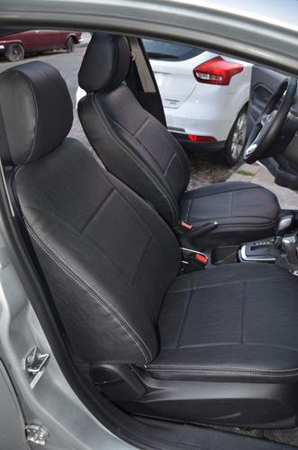 fundas asientos cuerina premium ford fiesta kinetic -carfun-