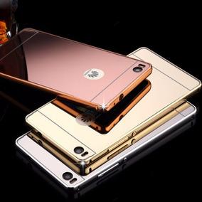 4ff8881cb9a Huawei G Elite L23 Funda Protector Aluminio Tipo Espejo Case
