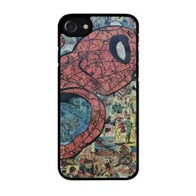 08a8fa27cc3 Protector Funda Celular Iphone Spiderman Hombre Araña Comics