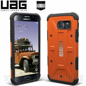 8d6ef4f07eb Funda Uag Samsung S7 Naranja Oxido Protector De Uso Rudo
