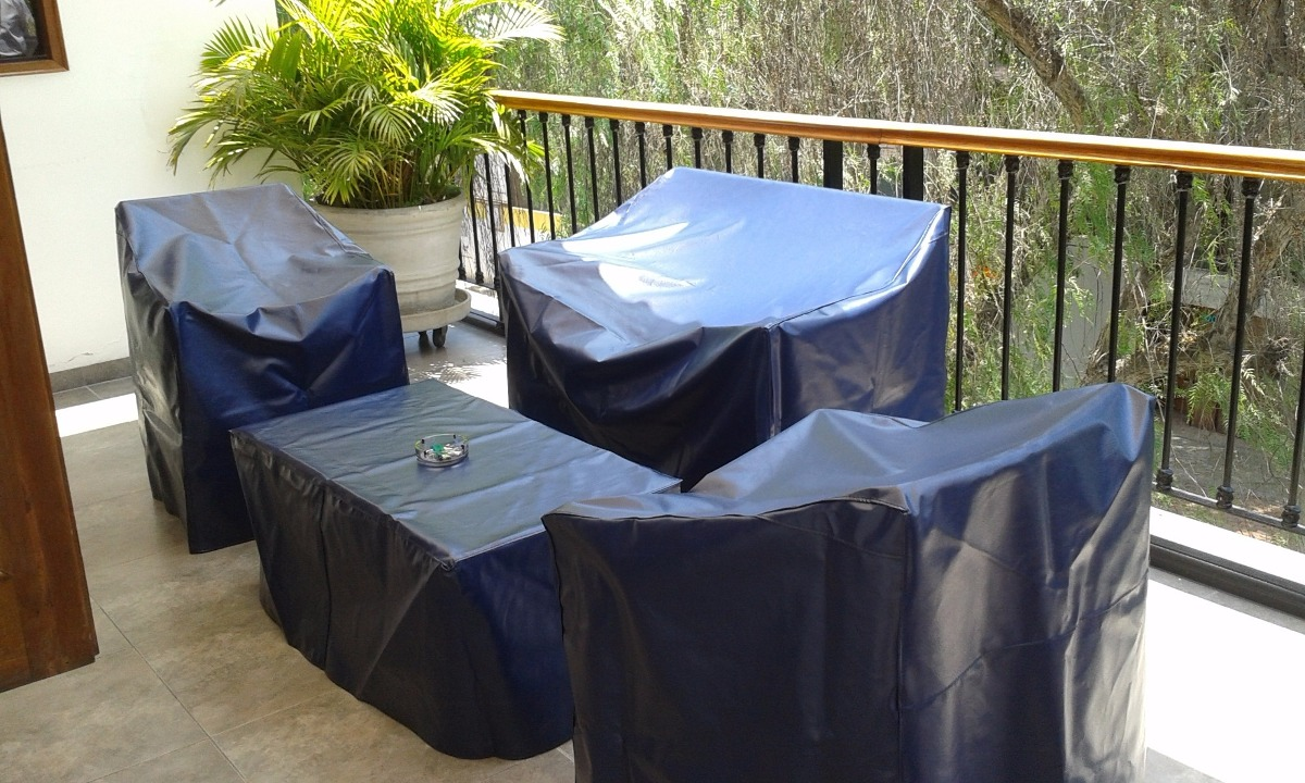 Fundas cobertores forros para muebles de terraza s 1 for Fundas protectoras para muebles de jardin