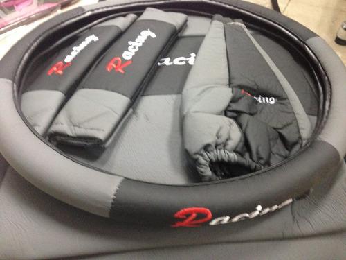 fundas cubre asientos auto cuerina calidad .x14 pzs mod1