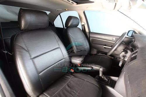 fundas cubre asientos cuero acolchado 1cm toyota hilux