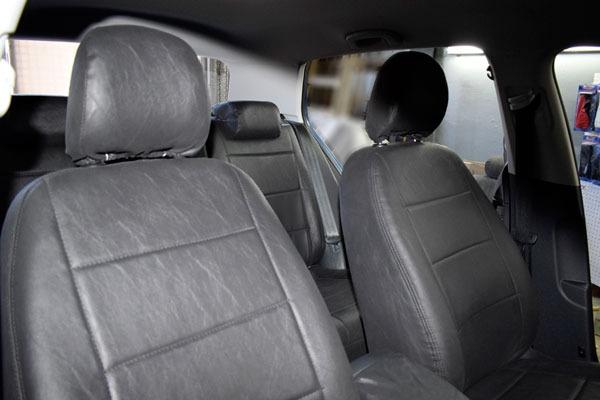 Fundas Cubre Asientos Cuero Acolchado Premium Ford Ka Video