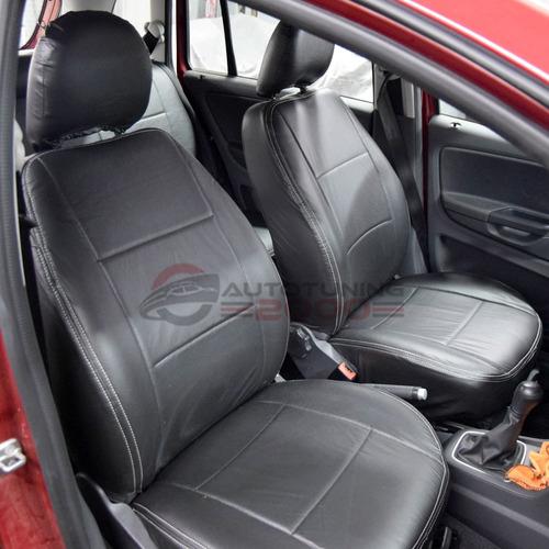 fundas cubre asientos cuero acolchado sandero / stepway