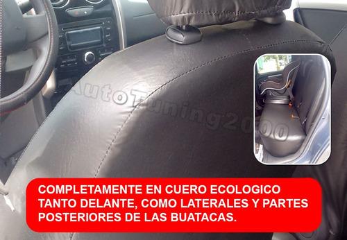 fundas cubre asientos cuero ecologico liso peugeot 505
