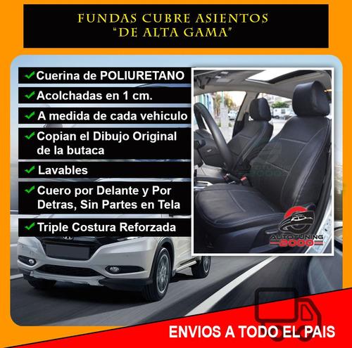 fundas cubre asientos cuero premium acolchada ford ranger