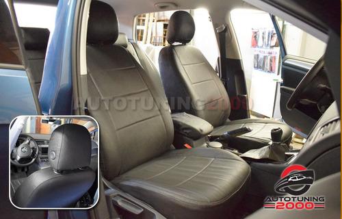 fundas cubre asientos cuero premium acolchada honda hrv crv