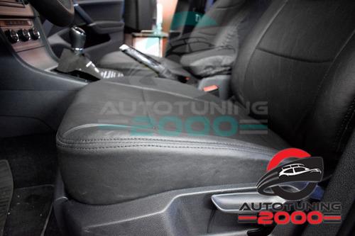 fundas cubre asientos cuero premium  sandero / stepway video