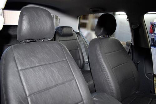 fundas cubre asientos cuero premum solo asiento trasero