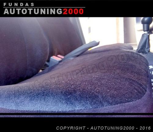 fundas cubre asientos pana afelpada peugeot 505