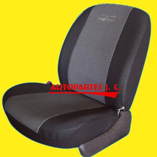 fundas cubre asientos sandero stepway en tela  fantasia