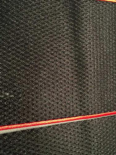 fundas cubre asientos tela deportivo negro & gris.x14 pz m1