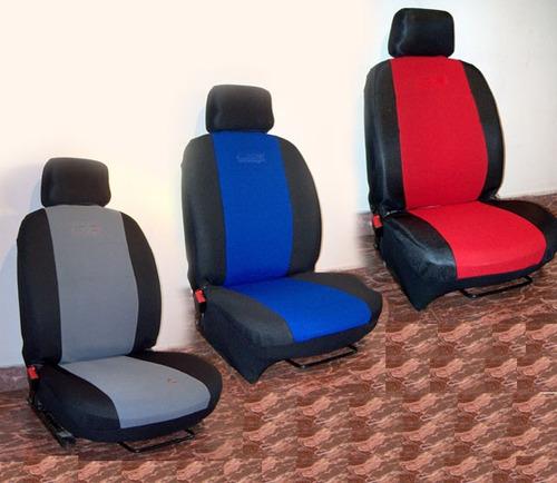 fundas cubre asientos tela lisa jackard peugeot 505