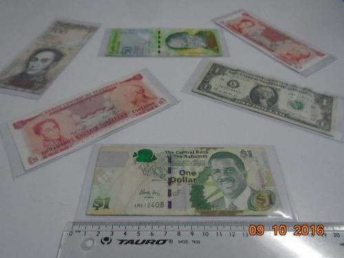 fundas de acetato para billetes bancarios