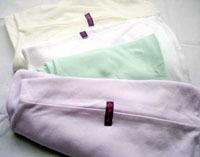 fundas de almohadón lactancia y bebé algodón lisa maminia