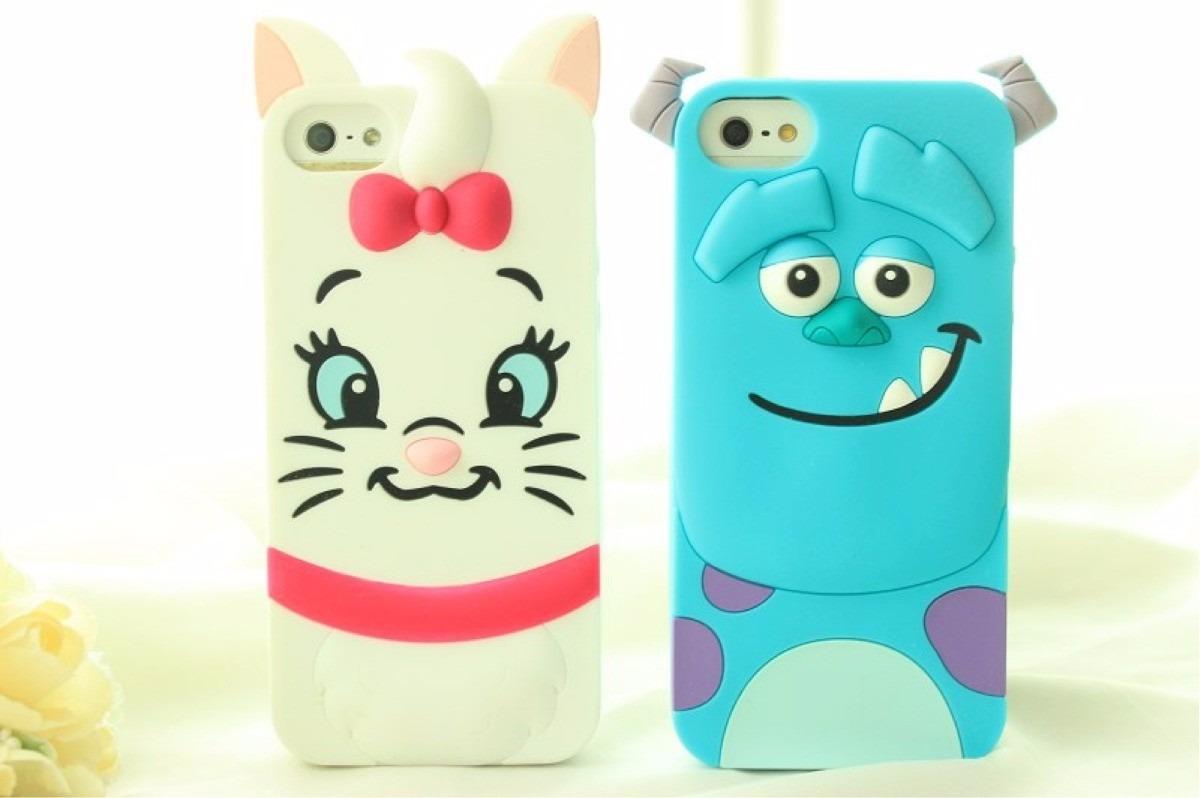 Fundas de personajes de disney 3 d iphone 5 5s 6 y 6 plus en mercado libre - Fundas de silicona para iphone 5 ...
