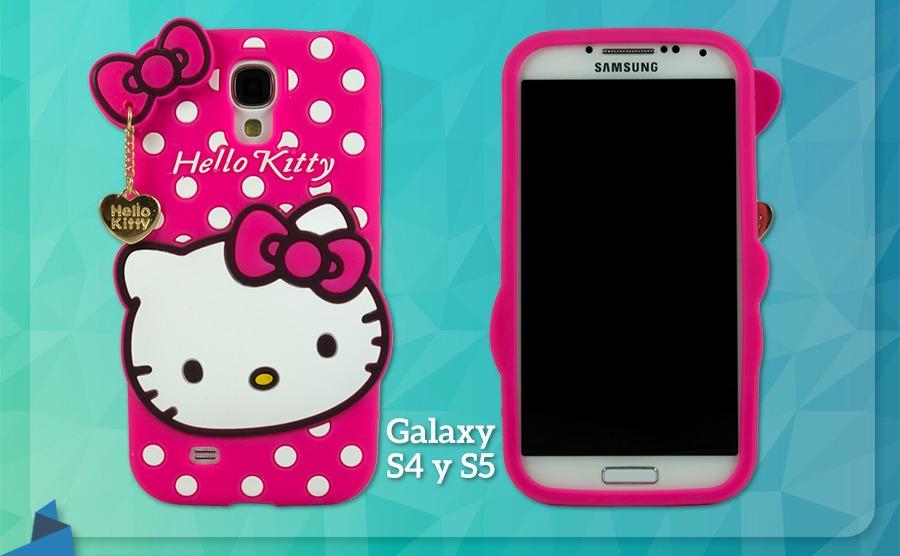 77bb5e7e805 Fundas De Silicona Hello Kitty - Con Dije. Hermosa!! - $ 59,00 en ...