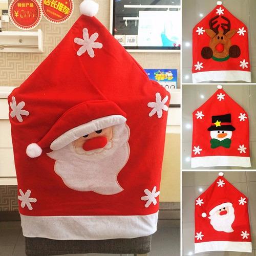 fundas de silla de navidad