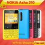 Pedido Nokia Asha 210 Libre De Fabrica En Caja Claro Movist