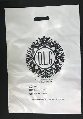 fundas impresas con el logo de su negocio,empresa por menor