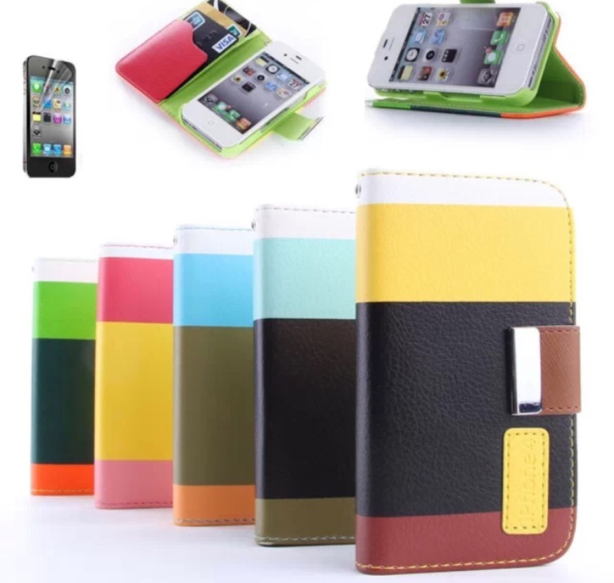 Fundas iphone 4 y 4s cartera en mercado libre - Fundas iphone 4 4s ...