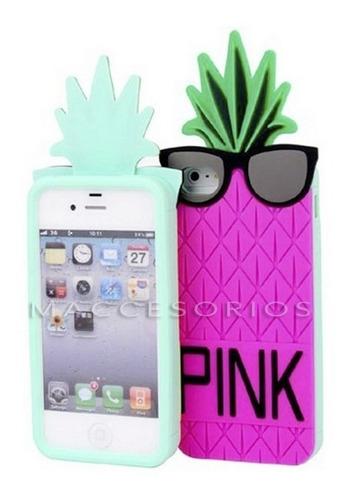 fundas iphone 5 5s 5c moschino pink de silicona