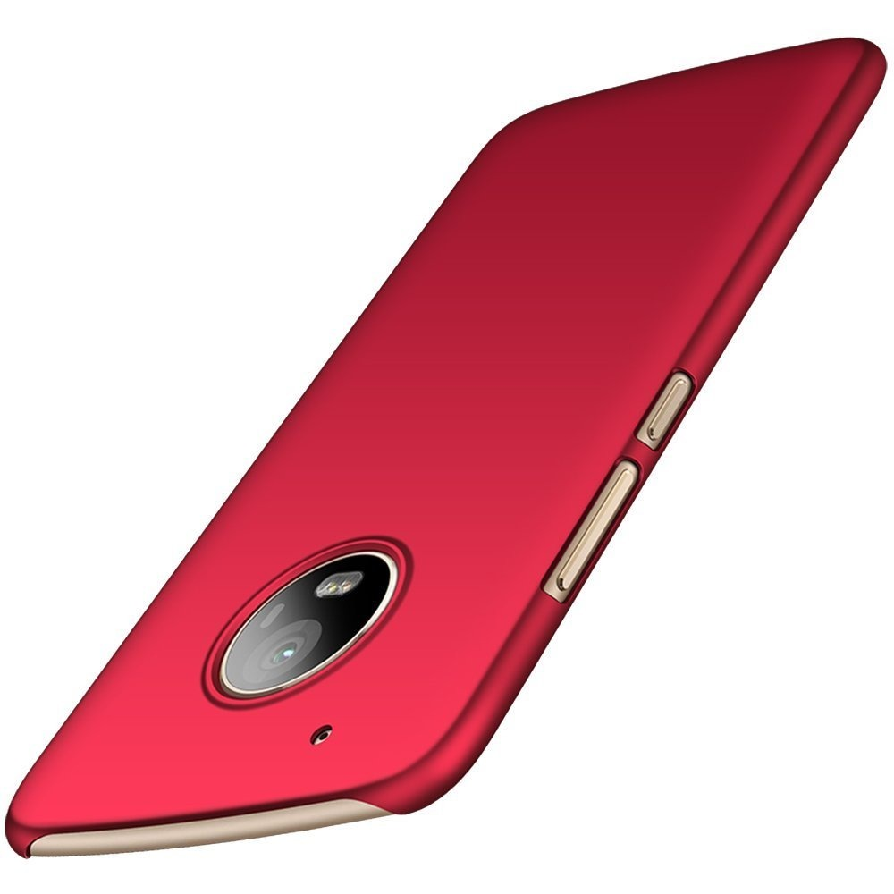 999fca0f8e5 fundas lgada protector moto g5 plus 5.5 pulgadas roja liso. Cargando zoom.