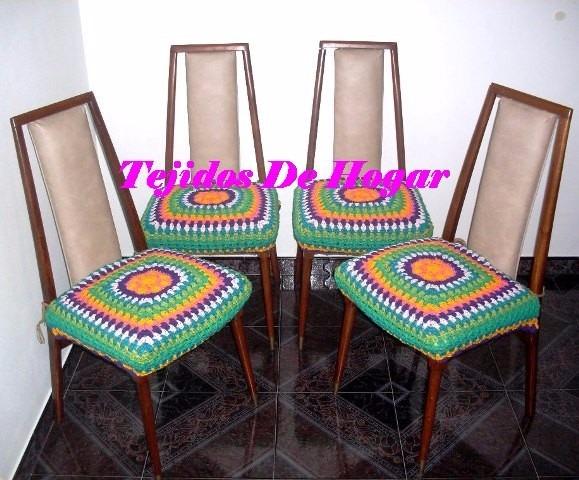 Fundas P Banco Banquito Tejida Crochet Ultima Moda 200 00 En