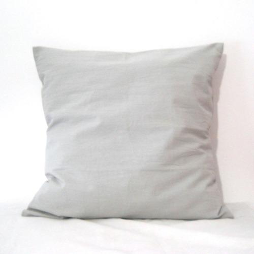 fundas para almohadones estilo nordico lisos 50x50