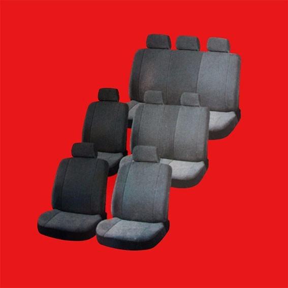 Fundas para asientos de camioneta furgon auto suv van ofc en mercado libre - Fundas para auto ...