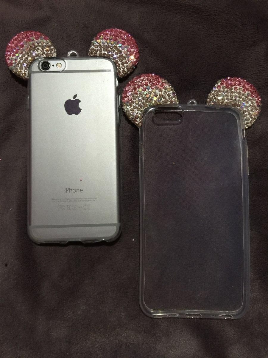 247ecaf1530 Fundas Para iPhone 6,6s,6 Plus Y 6s Plus De Mickey Y Conejo ...