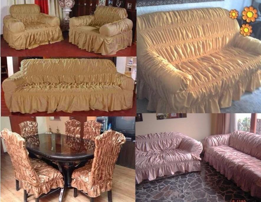 Fundas para muebles oferta desde s 550 jgo tapizado s for Muebles sillas oferta