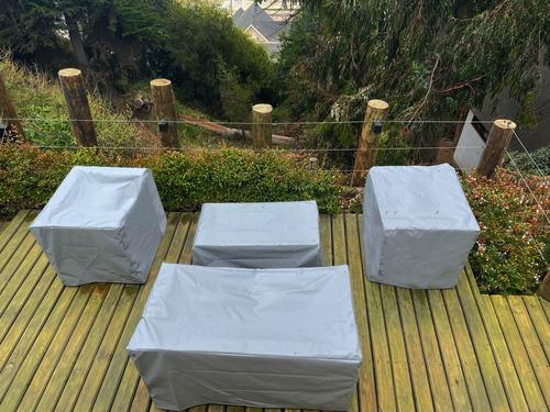 fundas para muebles terraza, sillones, sofas,impermeables.