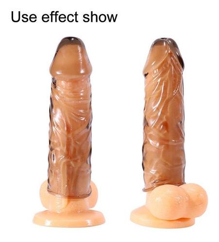 fundas para pene juguetes sexuales extensión para pene