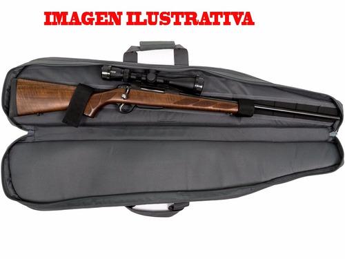 fundas para rifle fusil carabina acolchado fino para mira
