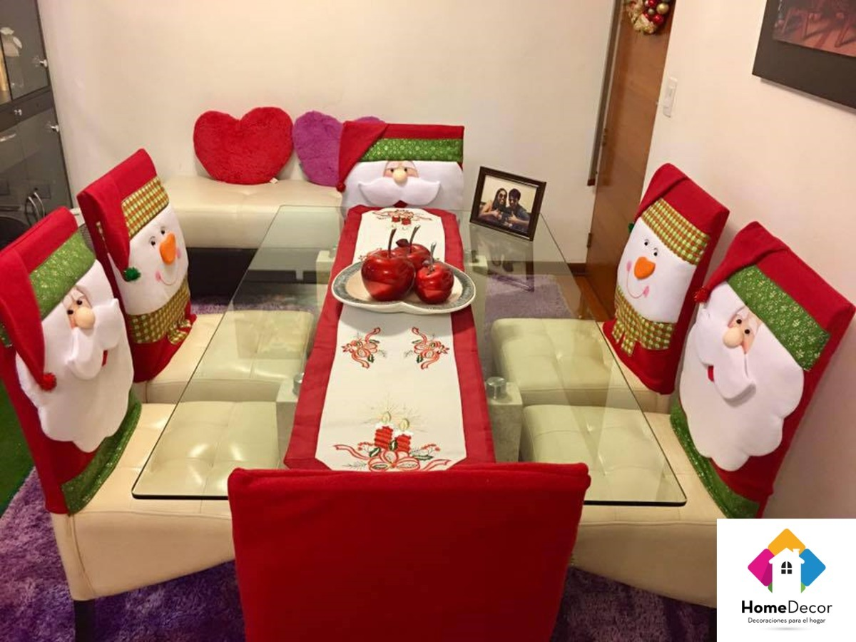 Fundas para silla de navidad s 35 00 en mercado libre - App decoracion hogar ...