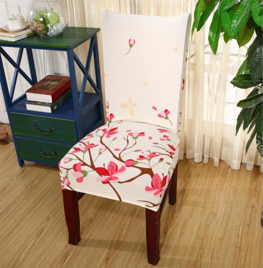 cover para sillas de comedor 6 unidades variedad de diseños de fundas