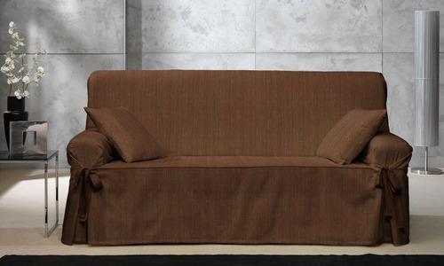 Fundas para sillones sof s de 3 cuerpos casa encantada for Fundas para sillones