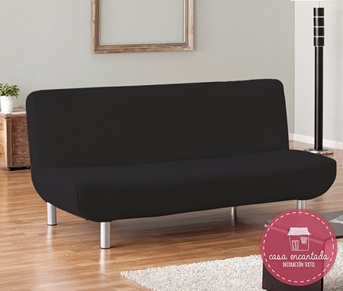 Fundas para sof s cama click clack en tela bull y r stica for Sofas tela rustika