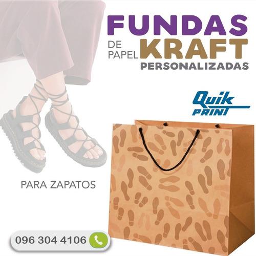 fundas personalizadas papel kraft / tela / cambrela / cajas