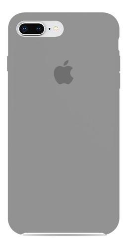 fundas silicon para celular case apple iphone 7 y 8 plus colores /e
